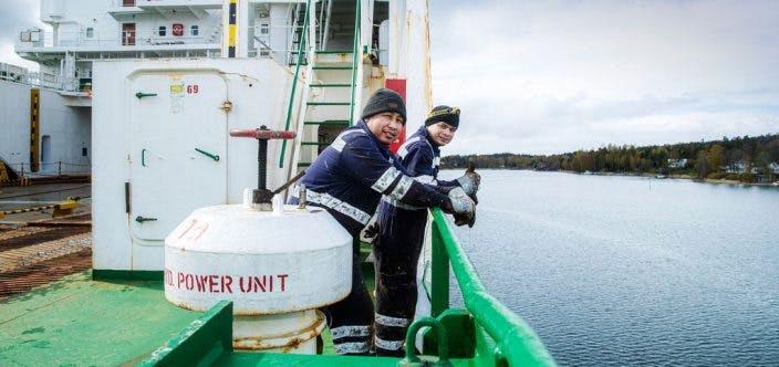 seamen onboard