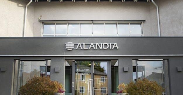 Alandia entrance