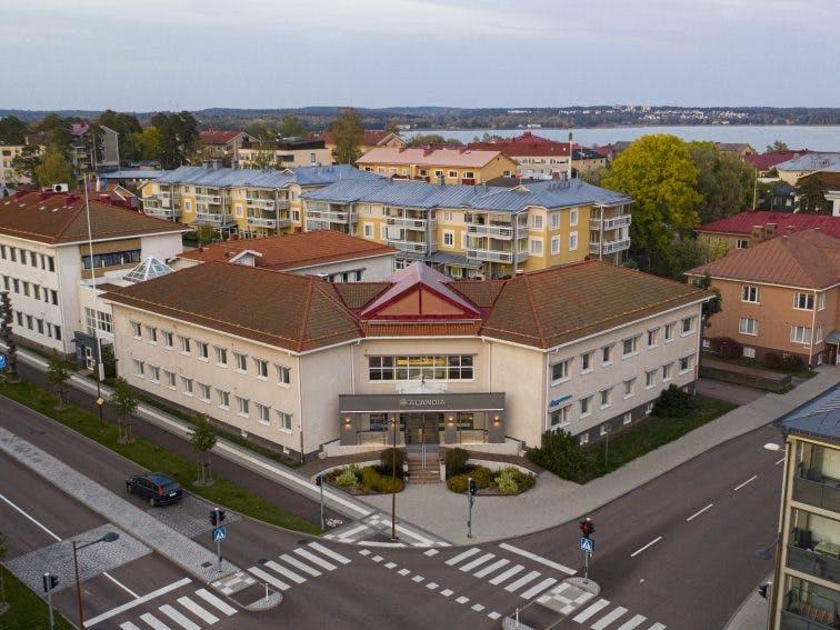 Alandia Office building in Mariehamn