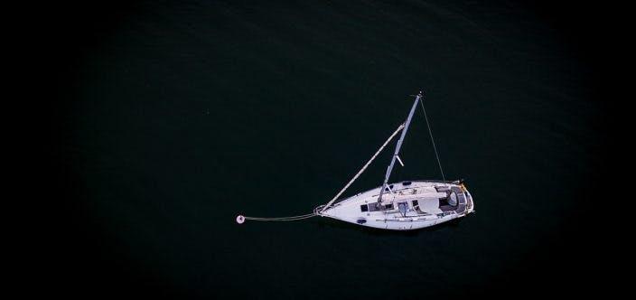 sailing boat Aerial Drone View JanKarlsson_200707_DJI_0368